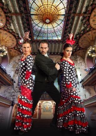Arte Flamenco Palau de la música catalana