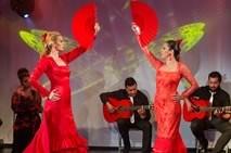Show Flamenco con abanicos
